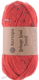 Melange Wool Tweed 375